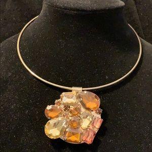 Vintage Avon big rhinestone necklace